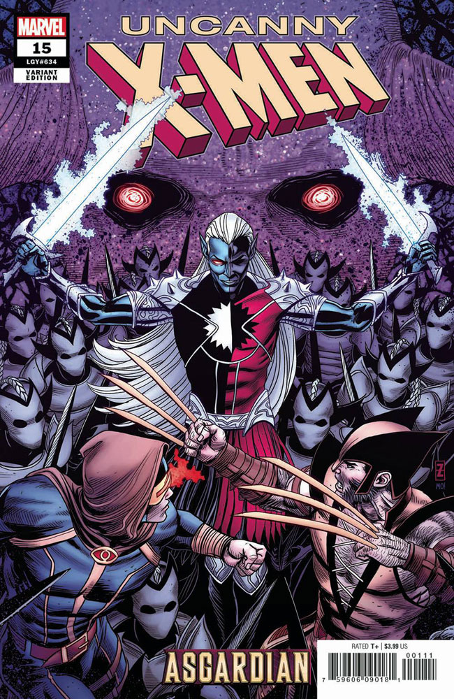 Image: Uncanny X-Men #15 (variant Asgardian cover - Patrick Zircher) - Marvel Comics