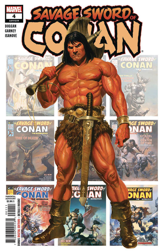 Image: Savage Sword of Conan #4 - Marvel Comics