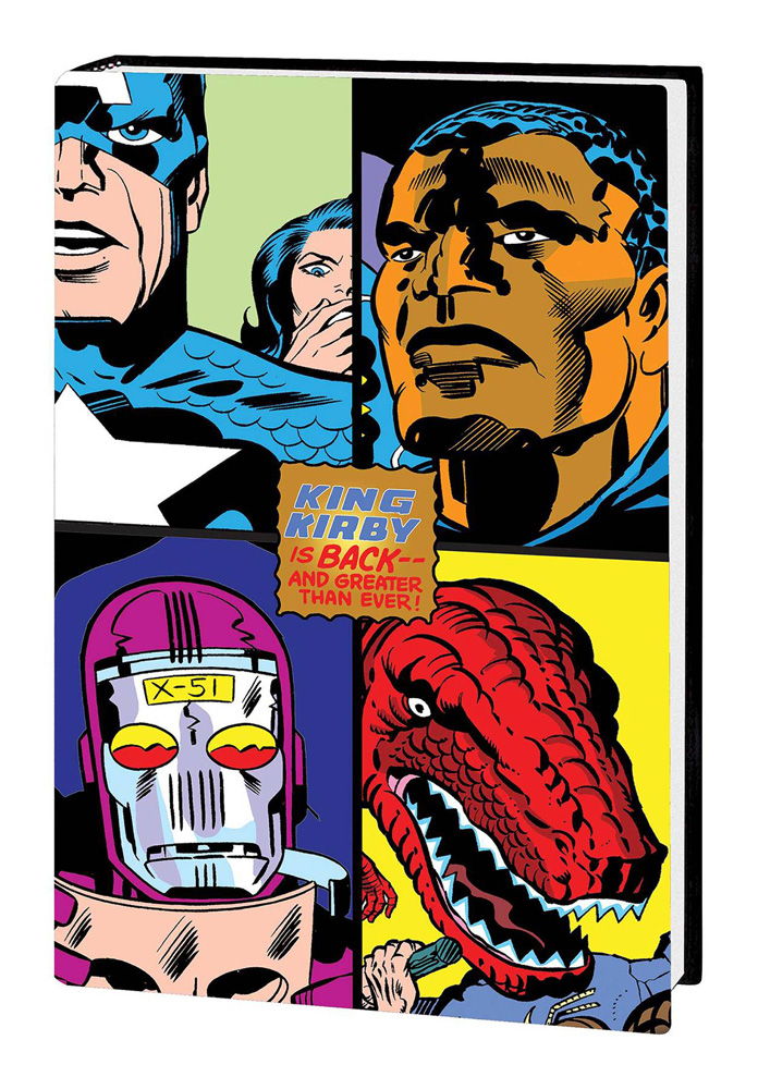 Image: Kirby Returns! King-Size HC  - Marvel Comics