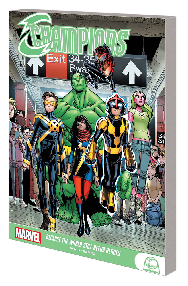 Image: Champions: Because the World Still Needs Heroes SC  - Marvel Comics