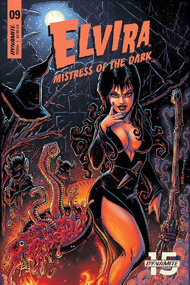 Image: Elvira: Mistress of the Dark #9 (cover A - Eastman)  [2019] - Dynamite