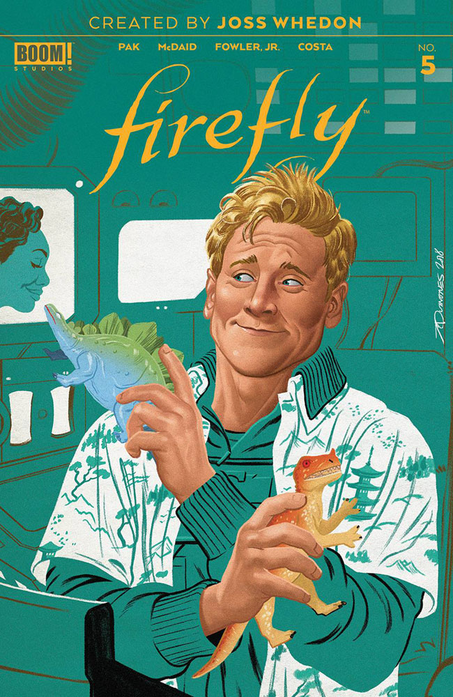 Image: Firefly #5 (Preorder cover - Quinones) - Boom! Studios