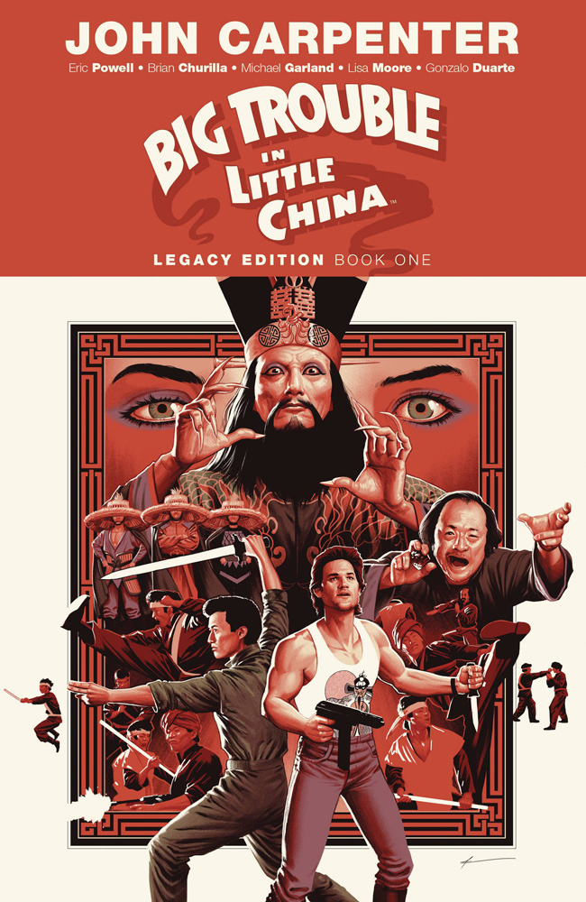 Image: Big Trouble in Little China Legacy Edition Vol. 01 SC  - Boom! Studios