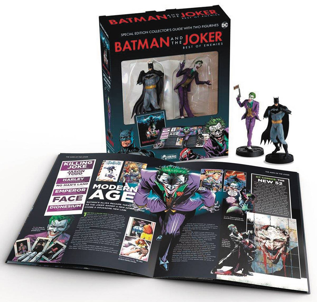 Image: Batman and Joker With Collectibles HC  - Hero Collector