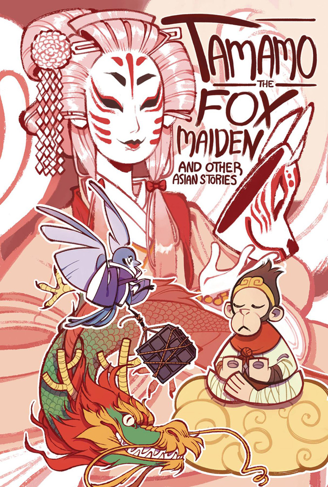 Image: Tamamo the Fox Maiden and Other Asian Stories SC  - Iron Circus Comics