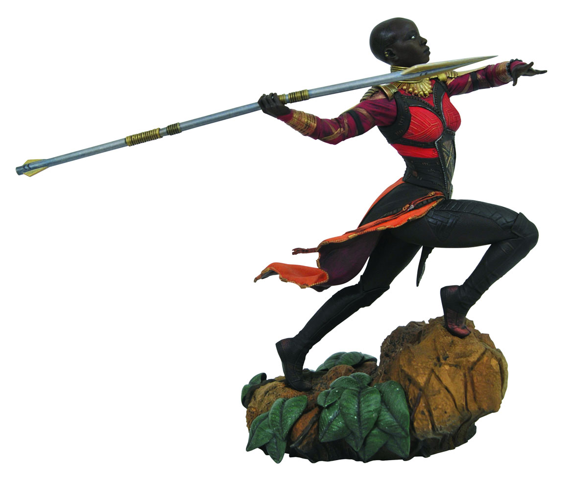 Marvel Gallery PVC Diroama: Black Panther Movie - Okoye  - Diamond Select Toys LLC