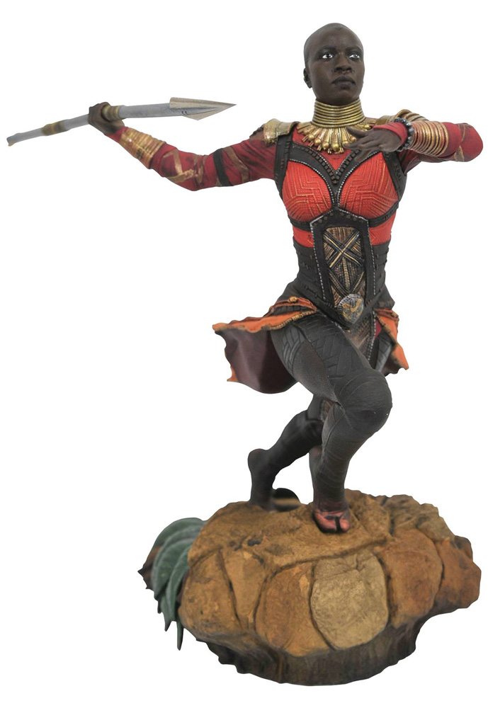 Image: Marvel Gallery PVC Diroama: Black Panther Movie - Okoye  - Diamond Select Toys LLC
