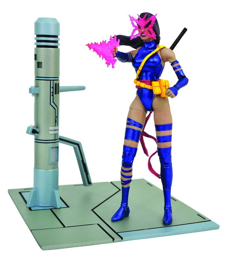 Marvel Select Action Figure: Psylocke  - Diamond Select Toys LLC