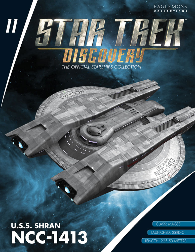 Star Trek: Discovery Official Starships Collection: U.S.S. Shran NCC-1413  - Eaglemoss Publications Ltd