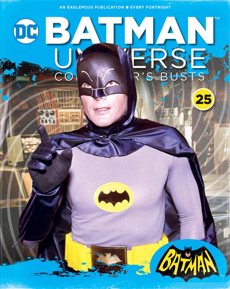 Batman Universe Collector's Bust: Batman Classic TV Show #25 - Eaglemoss Publications Ltd