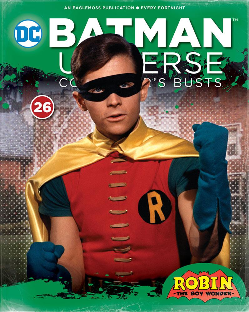 DC Batman Universe Bust Collection #26 (1966 Robin) - Eaglemoss Publications Ltd