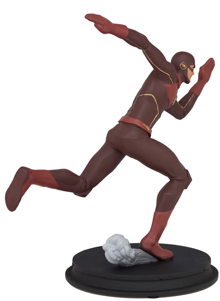 DC CW Flash Statue: Animated Flash  - Icon Heroes