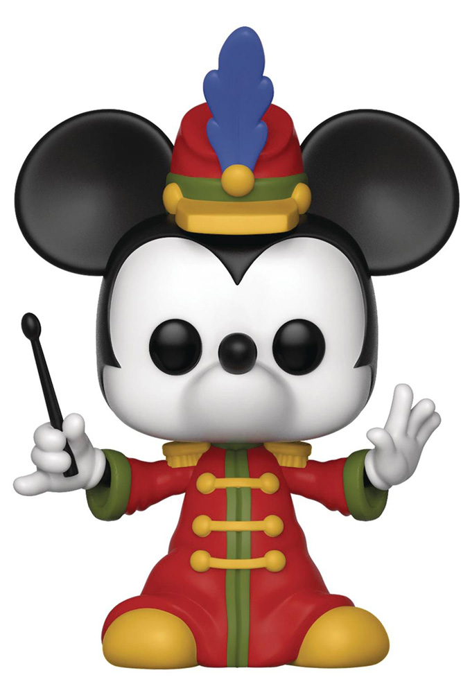 Image: Pop! Disney Vinyl Figure 430: Mickey the True Original - Band Concert Mickey  - Funko