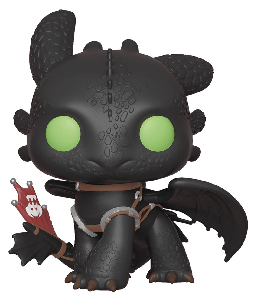 Image: Pop! Movies Vinyl Figure: How to Train Your Dragon 3 - Toothless  - Funko