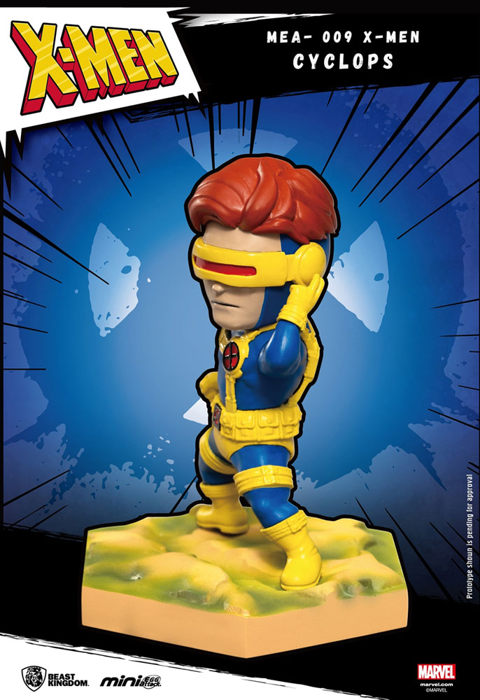 Marvel Mini-Egg Attack Figure: X-Men - Cyclops  - Beast Kingdom Co., Ltd