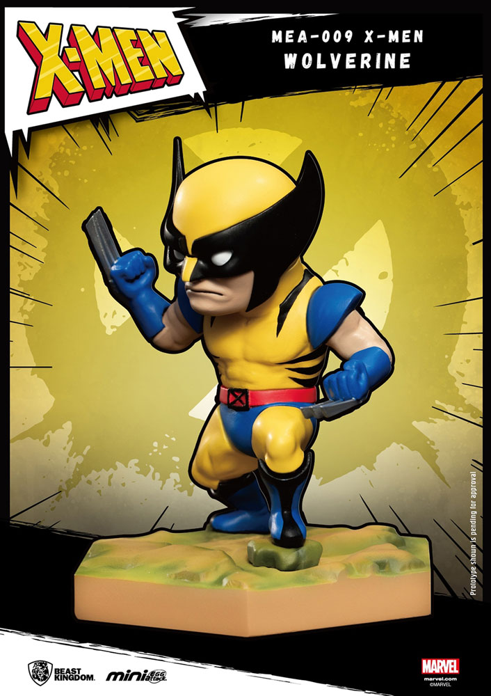 Marvel Mini-Egg Attack Figure: X-Men - Wolverine  - Beast Kingdom Co., Ltd