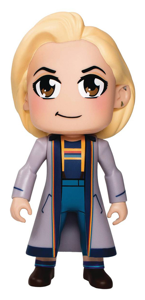 Doctor Who 3-Inch Twin-Pack: Thirteenth Doctor and Tardis  - Titan Books Uk