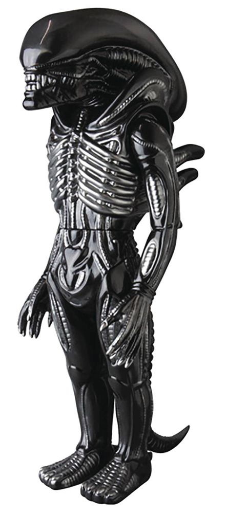 Image: King-Size Alien Sofubi Vinyl Figure  - Medicom Toy Corporation