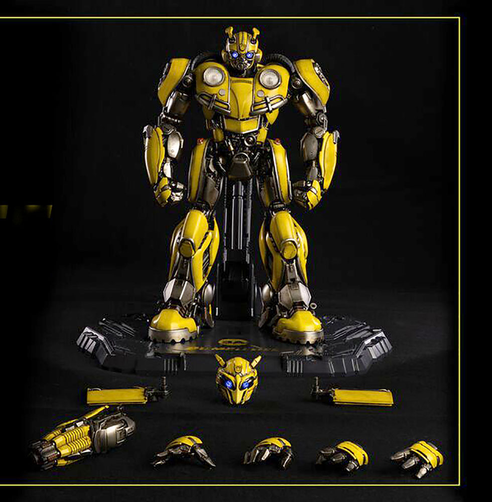 Transformers Deluxe Scale Figure: Bumblebee  - Three A Trading Company Ltd