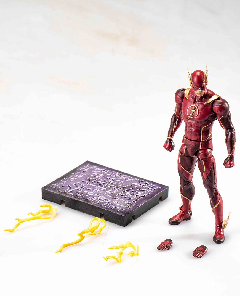 Injustice 2 Figure: The Flash  (1/18 Scale) - Hiya Toys