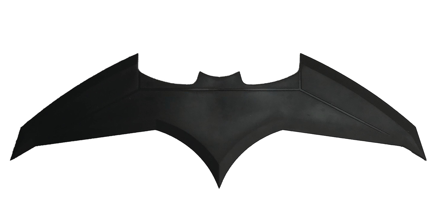 Image: DC Heroes Stunt Replica Prop: Batman Batarang  - Factory Entertainment