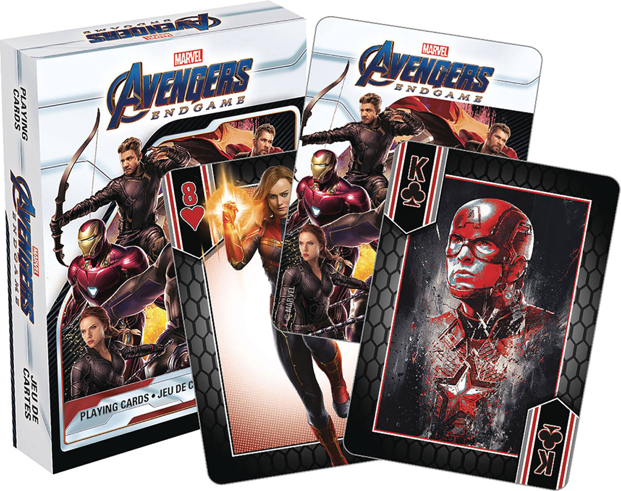 Image: Marvel Playing Cards: Avengers Endgame  -