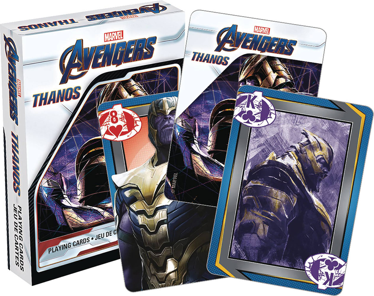 Image: Marvel Playing Cards: Avengers Endgame - Thanos  -