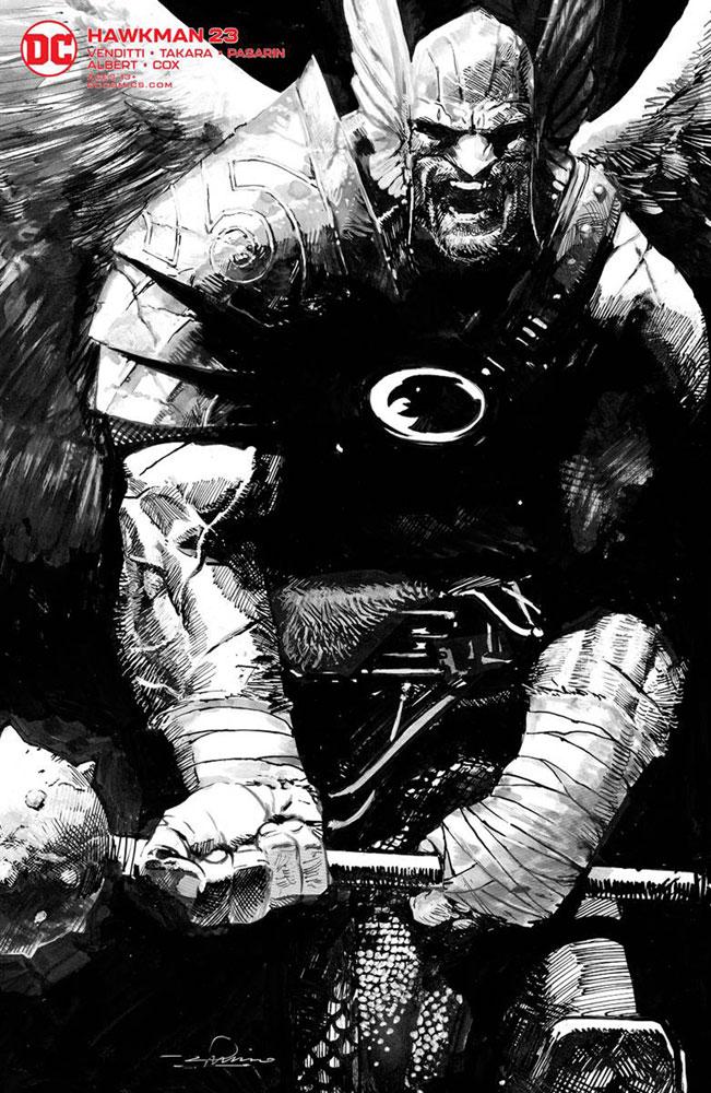Hawkman #3 Variant!!
