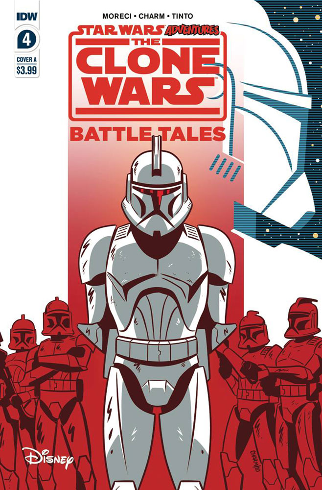 Image: Star Wars Adventures: Clone Wars #4 (cover A - Charm) - IDW Publishing