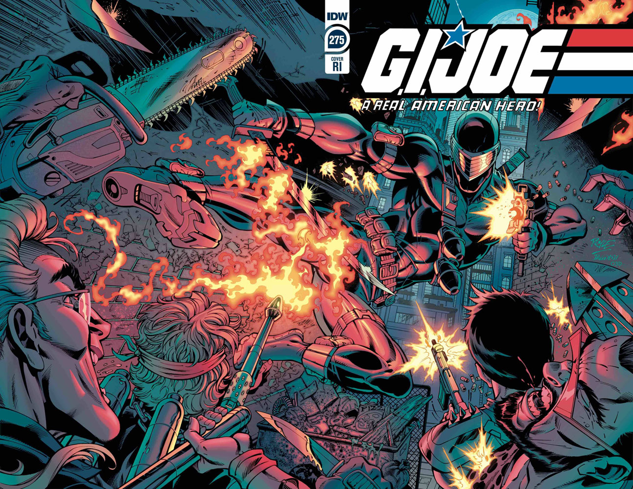 Image: G.I. Joe: A Real American Hero #275 (incentive 1:10 cover - Royle)  [2020] - IDW Publishing