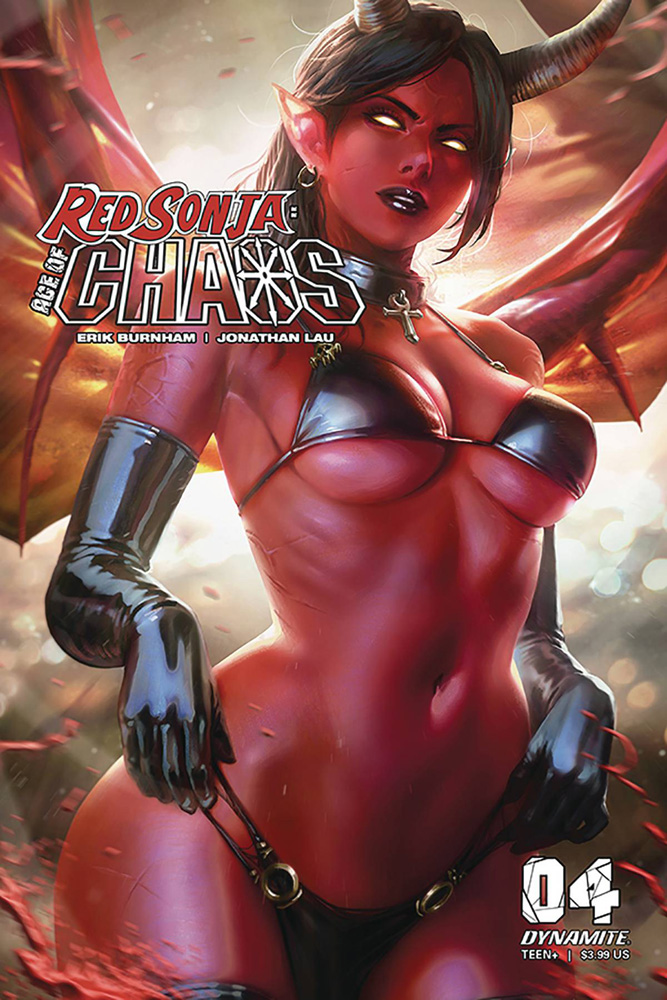 Image: Red Sonja: Age of Chaos #4 (cover D - Chew) - Dynamite