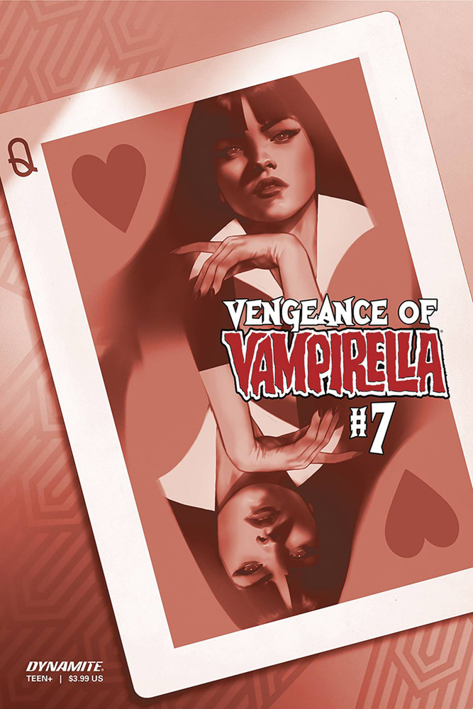 Image: Vengeance of Vampirella Vol. 02 #7 (incentive 1:40 cover - Oliver tinted)  [2020] - Dynamite