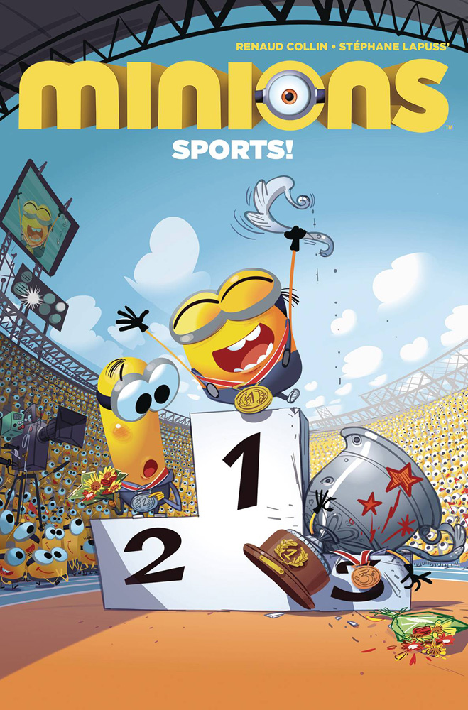 Image: Minions: Sports #1 - Titan Comics