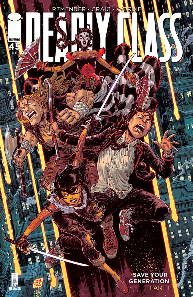 Image: Deadly Class #45 (cover B - Level & Dinisio) - Image Comics