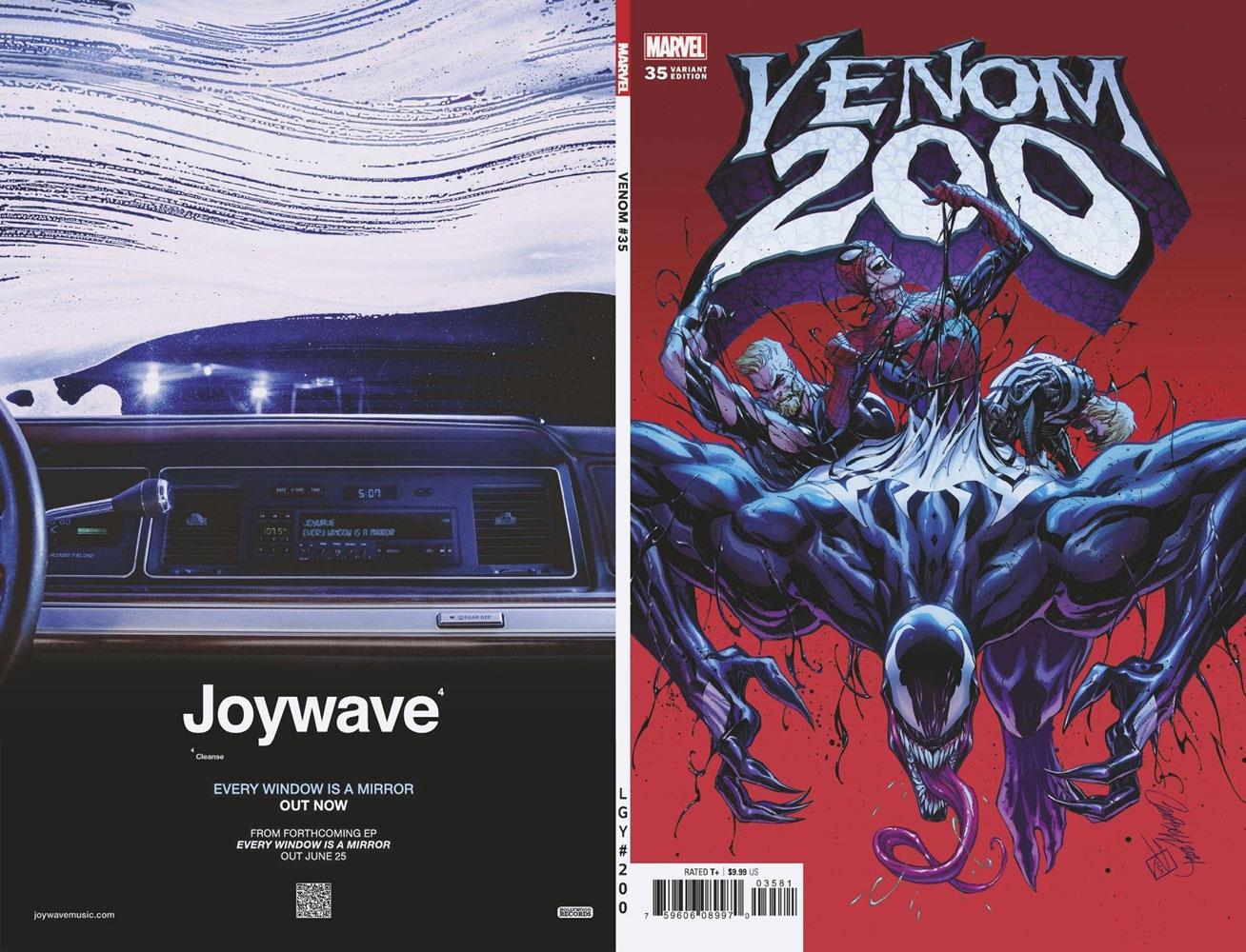 Venom #35 (200th issue) (incentive 1:50 cover - JS Campbell)  [2021] - Marvel Comics