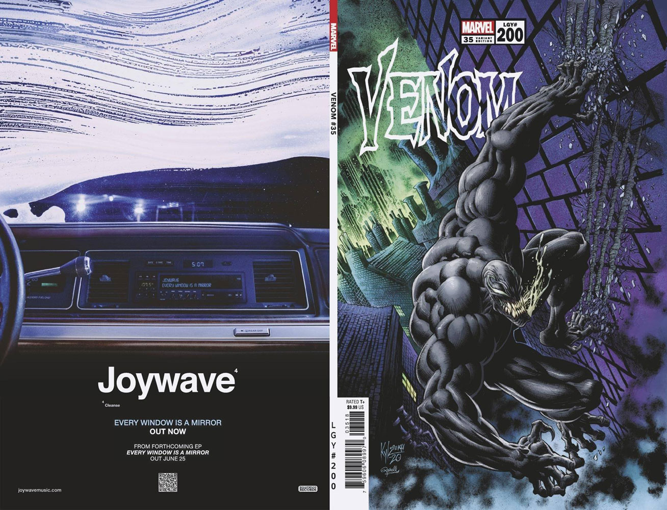 Venom #35 (variant cover - Kyle Hotz) - Marvel Comics
