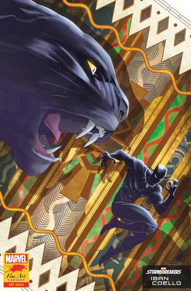 Image: Black Panther #25 (variant Stormbreakers cover - Iban Coello) - Marvel Comics