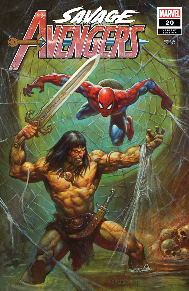 Image: Savage Avengers #20 (variant cover - Alex Horley) - Marvel Comics