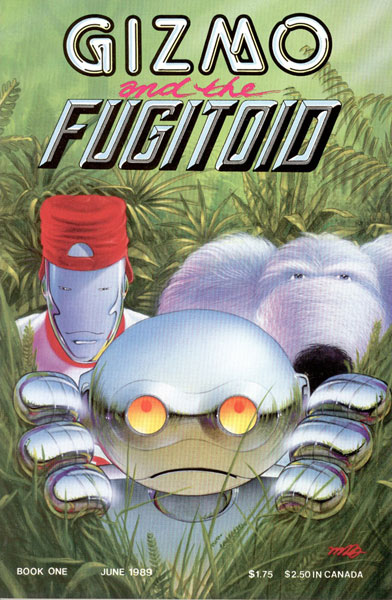 Image: Gizmo and the Fugitoid #1 - Mirage Studios
