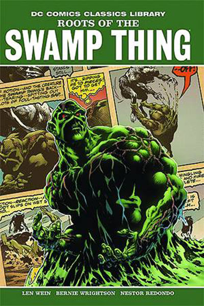 Image: DC Library: Roots of the Swamp Thing HC  - DC Comics