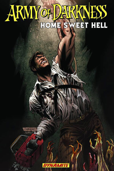 Image: Army of Darkness Vol. 08: Home Sweet Hell SC  - D. E./Dynamite Entertainment