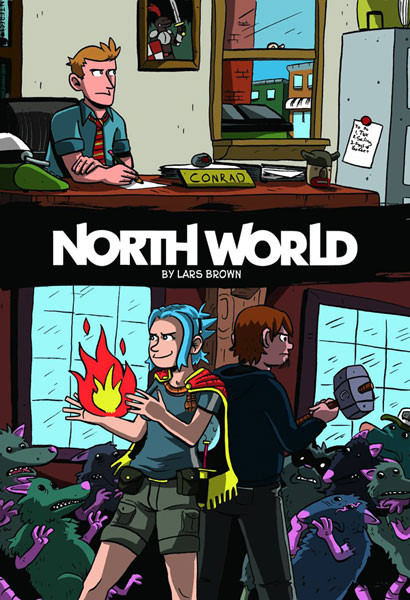 Image: North World Vol. 02 GN  - Oni Press Inc.