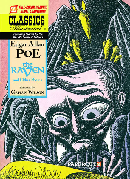 Image: Classics Illustrated Vol. 04: The Raven & Other Poems HC  - Papercutz