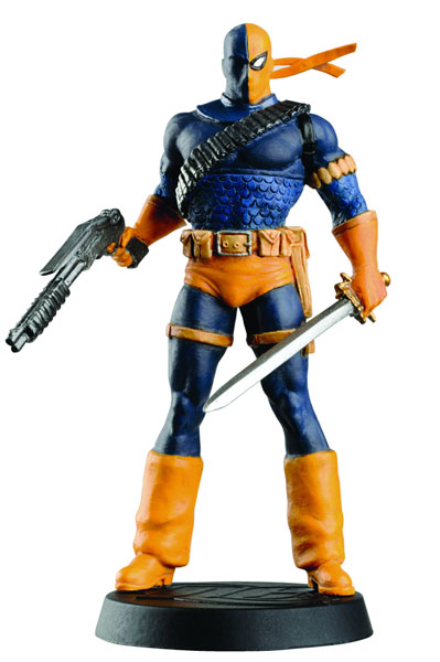 Image: DC Superhero Figurine Collection Magazine #27 (Deathstroke) -