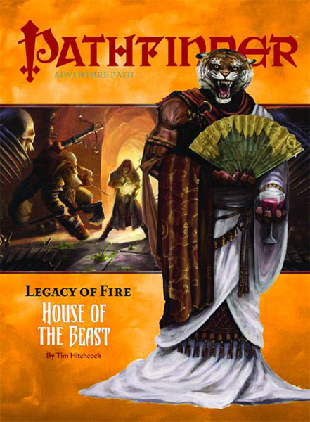 Image: Pathfinder Path Legacy Fire #2: House of the Beast  - Paizo Publishing LLC