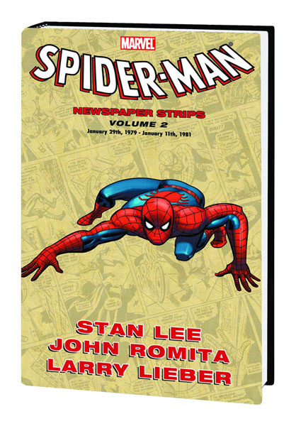 Image: Spider-Man Newspaper Strips Vol. 02 HC  - Marvel Comics