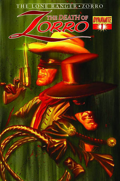 Image: Death of Zorro #1 (variant cover 11-copy set - 2-copies cover C: Yeates) - Dynamite