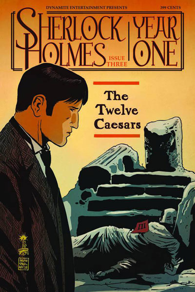Image: Sherlock Holmes: Year One #3 (20-copy Campbell B&W incentive cover) (v20) - Dynamite