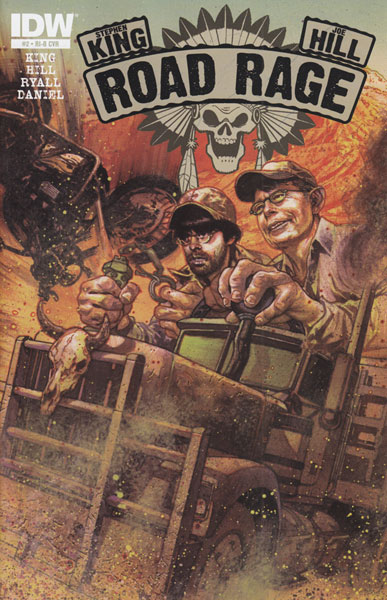 Image: Stephen King's Joe Hill: Road Rage #2 (25-copy incentive cover) (v25) - IDW Publishing