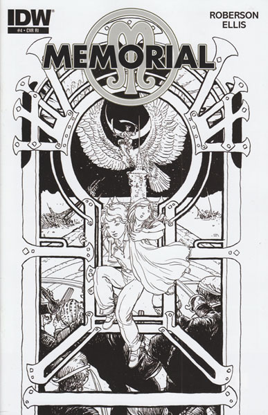 Image: Memorial #4 (10-copy incentive cover) (v10) - IDW Publishing